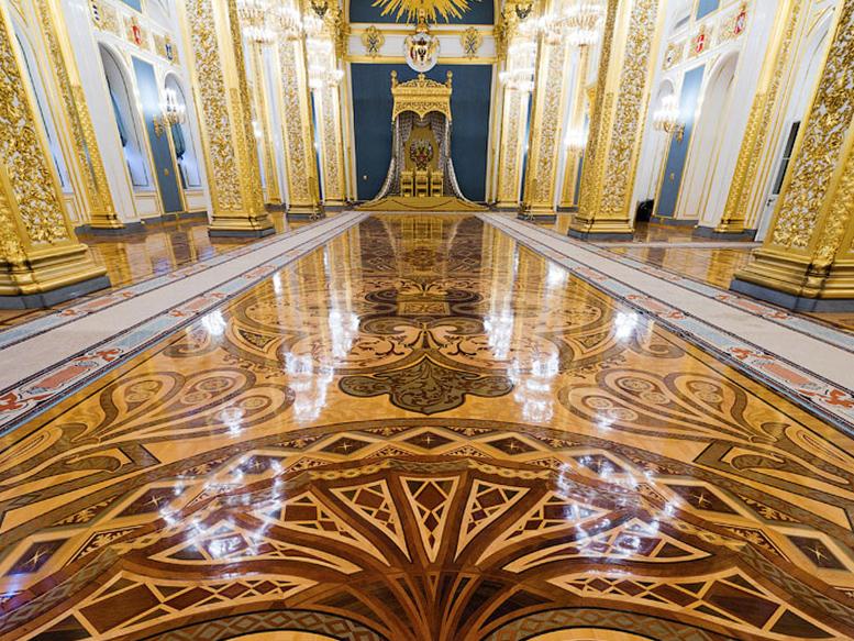 parquet intarsiato berti kremlin palace